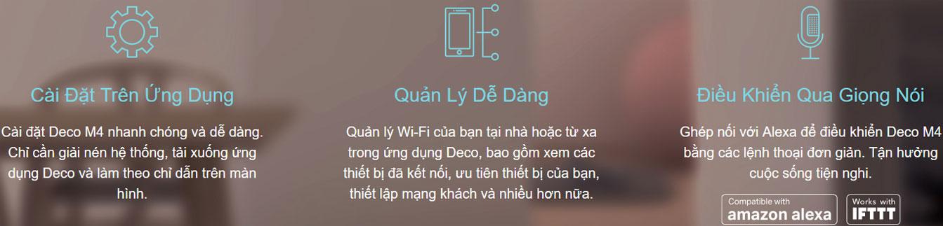 truy cập Wifi dễ dàng - Deco M4