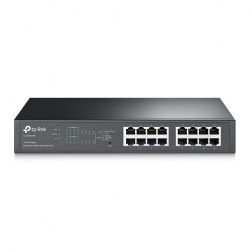 16-Port Gigabit Easy Smart PoE Switch with 8-Port PoE+ TL-SG1016PE